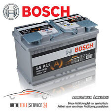 Bosch org 12v 80-ah 800a batería start-stop auto-batería audi a3 a4 2.0 TDI
