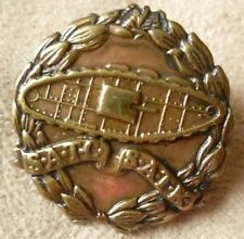 Badge WW1 South African Tank Corps Badge Brass LEFT FACE Scarce Original* RARE