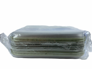 Datasafe Clear CD/DVD Disk Storage Carry Case Holds 40 CDs DVDs Hard Outer