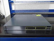 Cisco Catalyst 3750E  WS-C3750E-24TD-S 24 Port Gig  Switch +  2 X2 10 G port