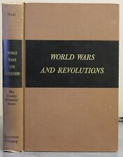World Wars and Revolutions Walter Phelps Hall 1943 HB Europe Since 1900 Maps