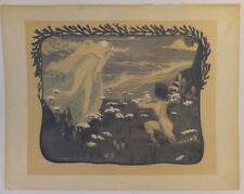L'illusion, lithographie d'Henri Bellery-Desfontaines, L'estampe moderne, 1897