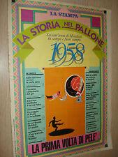 FASCICOLO LA STORIA NEL PALLONE SESSANT´ANNI DI MONDIALI LA STAMPA 1958