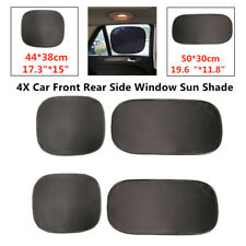 4X Car Front Rear Side Window Sun Shade Curtain Visor Mesh Shield UV Protector