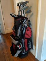 Walter Hagen JR Series II Golf Set 7 Clubs Stand Bag Youth RH
