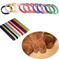 Soft Puppy Whelping Pet Dog Reusable Identification Collar Adjustable