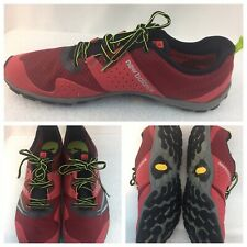 New Balance Minimus MT20RB2 Trail Running Mens Sz 14 D US 49 EUR Shoes Red Black