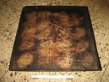 9 Stück ca 58 x 58 x 2,5 cm abgeschrägter Rand Pizzablech Backblech gelocht 27B