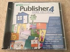 Publisher 4 Home Edition - PC Software - Create Birthday Cards, Business Cards..