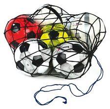 12 Ball Football Carry Net Training Aid Coaching Nylon String Equipment TR151