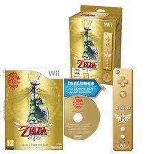 NINTENDO WiiU THE LEGEND OF ZELDA SKYWARD SWORD LIMITED + CD + WiiMOTION PLUS