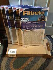 4 Pk 3M Filtrete 14X25X1 Replenishable Ac Furnace Air Filter Mpr 2200 Premium ✅