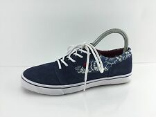 DC Women's Navy Leather Shoes 7