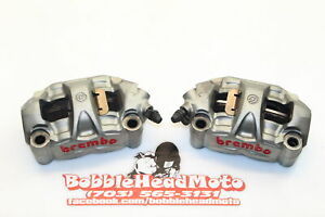 12-17 Ducati 1199 Panigale S Oem Right Left Front Brake Caliper Set Pair G7