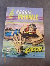 ZAGOR ZENITH n° 140 LA NEBBIA INFERNALE - BUONE/OTTIME CONDIZIONI