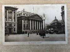 The Mansion House, London, Photograph Postcard c.1910