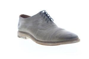 Frye Paul Bal Oxford 80280 Mens Gray Oxfords & Lace Ups Cap Toe Shoes