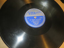 78RPM Vitacoustic 4 Patti Page w/ Freddy Nagel, My Heart is a Hobo clean V+