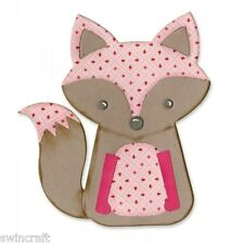 Sizzix Bigz Die Fox # 2 660774 bigkick/big shot/vagabond/cut N Boss