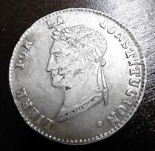 BOLIVIE - 4 SOLES 1856 FJ - Argent