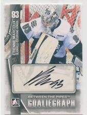 13/14 BETWEEN THE PIPES GOALIEGRAPH AUTOGRAPH AUTO ETIENNE MARCOUX ARMADA *49833