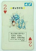 Gyarados Pokemon Venusaur Playing Card Poker Card 1996 Nintendo Japanese Rare