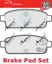 Apec Rear Brake Pads Set OE Quality Replacement PAD1773