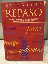 ESSENTIAL REPASO Complete Review of Spanish Grammar Comms Culture 9780844274102