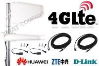 LTE Antenne 800 1800 2600MHz 2x 16dBi GEWINN 10M TS9 CRC9 Gigacube B528s-23a