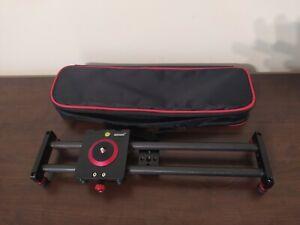 Neewer Mini Carbon Fibre Track Lightweight Slider Dolly Rail 40cm