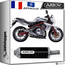ARROW POT D'ECHAPPEMENT MAXI RACE-TECH ALUMINIUM DARK HOM KAWASAKI ER6N 2010 10