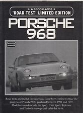 PORSCHE 968 COUPE (INCL CLUB SPORT) & CABRIOLET 1991-95 PERIOD ROAD TESTS BOOK