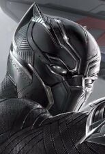 Marvel's Captain America: Adult Black Panther Full Mask Halloween Holiday Party