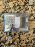 2019 Marquise Brown Spectra Monumental Psychadelic Prizm 4 Color Patch SSP 4/5!