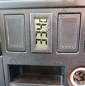 Cyfrowy termometr Czujnik VW T4 deska rozdzielcza Konsola Pokrywę przełącznika
