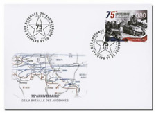 Luxemburg 2019 75jr  Slag om de Ardennen   FDC                      POSTFRIS/MNH
