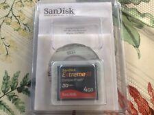 Brand New SanDisk 4GB Extreme III CompactFlash Card