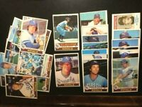 1979 TOPPS BASEBALL 25 KANSAS CITY ROYALS CARDS-EXNM-W/GEORGE BRETT-FREE SHIP