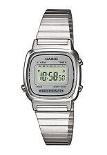 Ladies Vintage Silver Dial Casio LA670WEA-7EF Classic Digital Stopwatch Watch