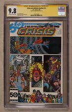 Crisis on Infinite Earths #11 CGC 9.8 SS 1986 1323125007