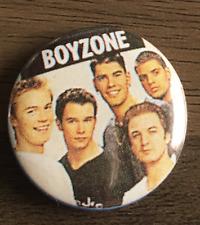 BOYZONE BUTTON BADGE 90s BOYBAND No Matter What - Ronan Keating 90s  25mm PIN