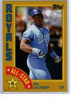 Bo Jackson 2019 Topps 1984 Topps All-Stars Oversize 5x7 Gold #84AS-BJ /10 Royals