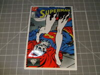 COMIC ART SUPERMAN GLOSSY Stickers Bumper Bombit Actual Pattern NEW