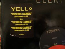 Yello Vicious Games 4 mixes Us Dj 12""