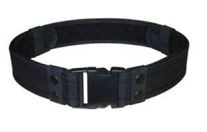 2'' Black Tactical SWAT Police Security Combat Gear Utility Nylon Duty Belt New