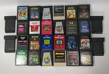 Lot of 28 Atari Video Games Donkey Kong Space Invaders SwordQuest Untested