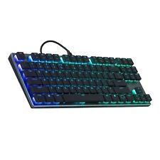 Cooler Master SK630 Tenkeyless RGB Mechanical Keyboard, Low Profile Cherry MX