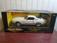 Ertl American Muscle 1967 Ford Mustang Shelby GT-350 1:18 Scale Diecast Car
