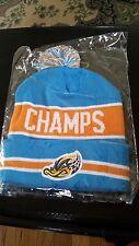 Akron Rubber Ducks Aeros Minor League Baseball MiLB New Winter Beanie Hat