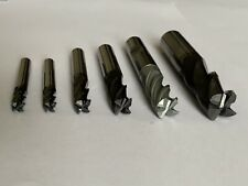 Carbide End Mill 6 Pieces 16mm 12mm 10mm 8mm 6mm Job Lot MA.34